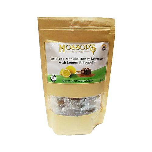 慕氏UMF 12+麥蘆卡蜂蜜潤喉糖-檸檬蜂膠 200克