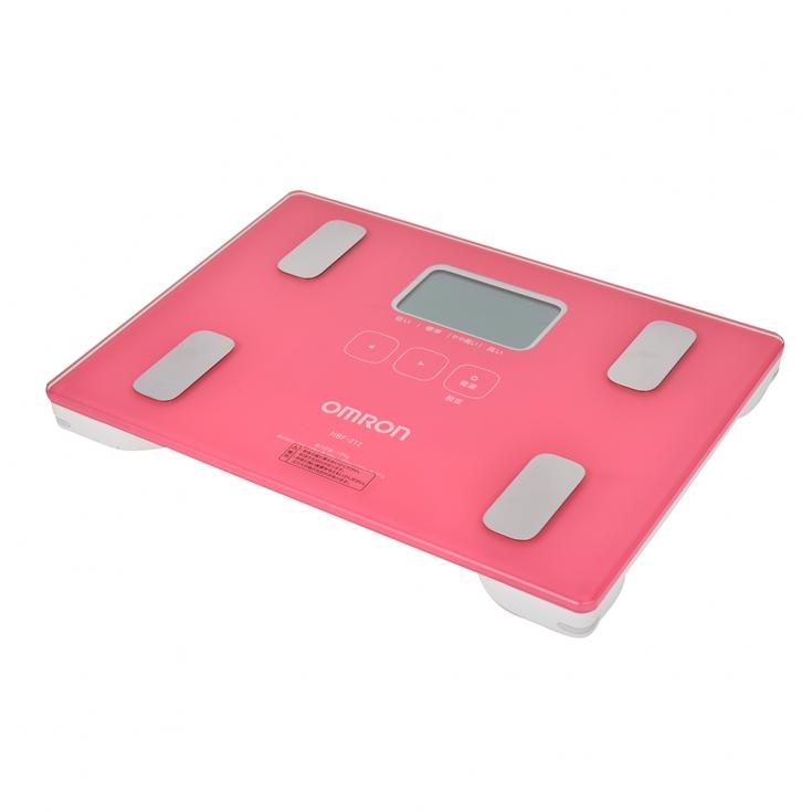 歐姆龍體重脂肪磅 HBF-212(粉紅色)