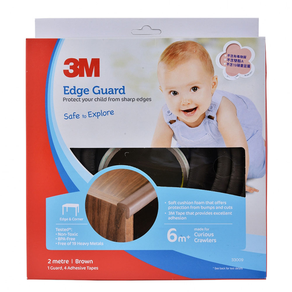 3M Edge Guard - 2 Metre (Brown) 33009 15