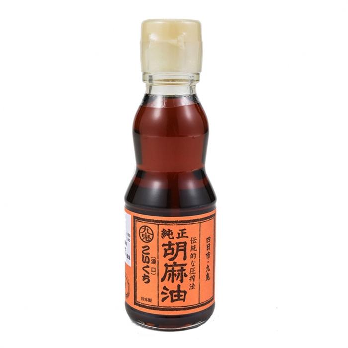 日本 九鬼 純正芝麻油(濃)185毫升