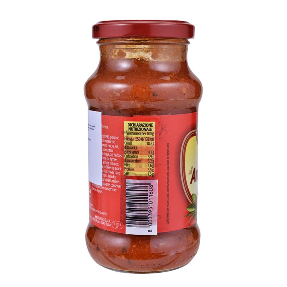 Bella Parma 意大利煙肉蕃茄意粉醬350克