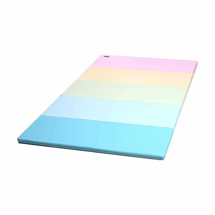 Caraz Q5加厚摺摺地墊C01Q5002(粉彩色)