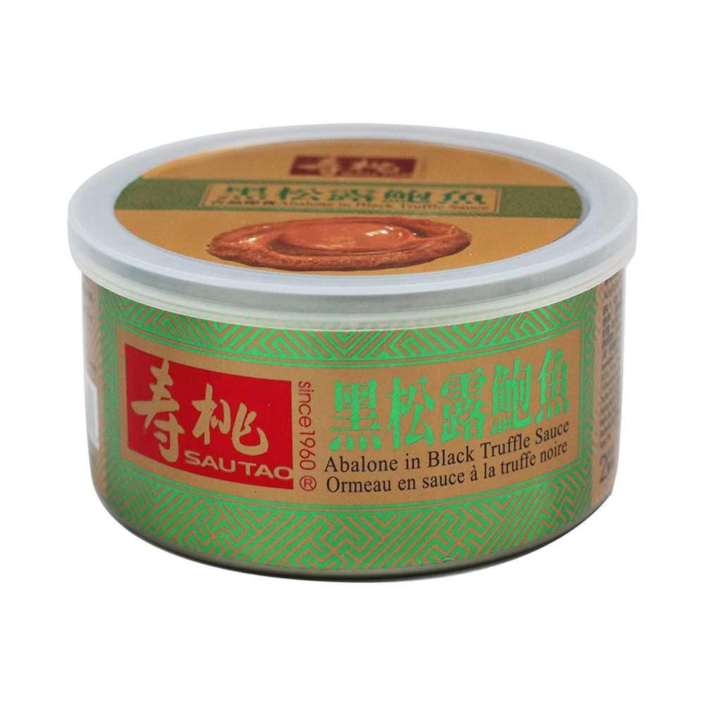 壽桃罐裝即食鮑魚140克 (黑松露)