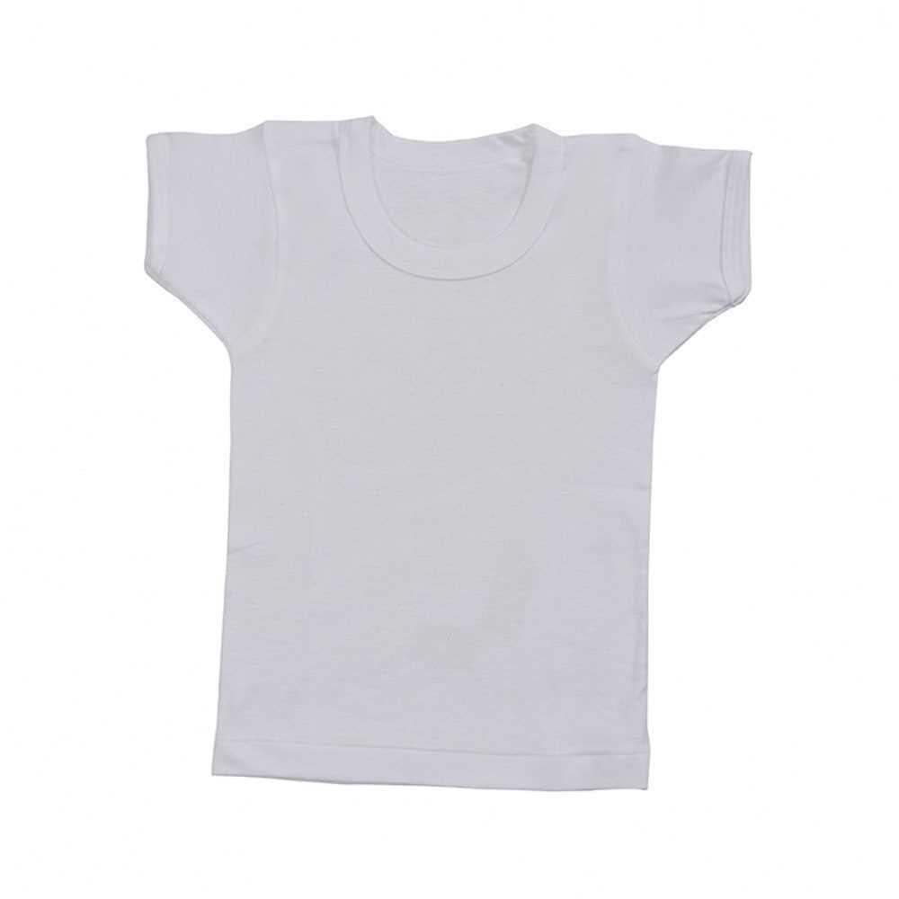 Gunze男童100%全棉圓領短袖內衣 BF6550G-6580G (兩件裝).