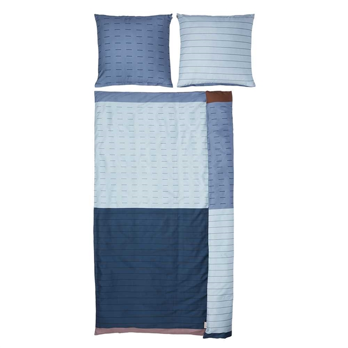 Denmark Brand Mette Ditmer 100% Cotton Bed Set Single Size (Count)