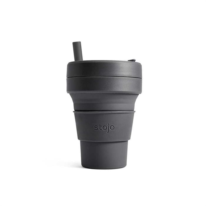 Stojo Biggie Cup 470ml (Carbon)S2-CBN