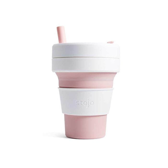 Stojo摺疊隨行杯470毫升(櫻花粉紅色)S2-ROS