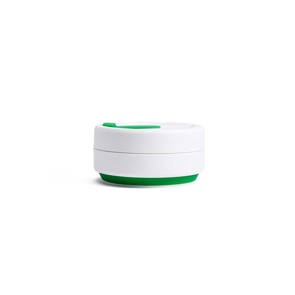 Stojo摺疊隨行杯355毫升(綠色)S1-GRN