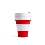 Stojo Pocket Cup 355ml (Red) S1-RED