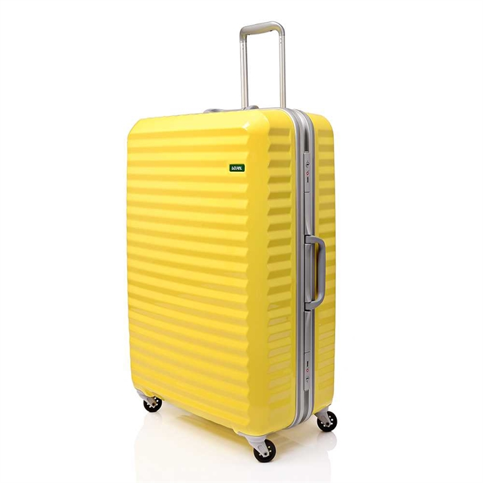 """Lojel Groove Luggage 27""""CF-1232-Butter Yellow"""