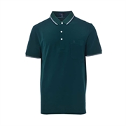 Montagut Classic Fit Cotton Polo Shirt TSS1111535-Green