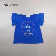 班比奇新款女童T恤00817