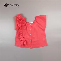 班比奇新款女童衬衫00857