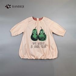 班比奇新款女童连衣裙00815