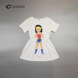 班比奇新款女童连衣裙00809