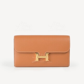 Hermes Constance Long To Go 金金