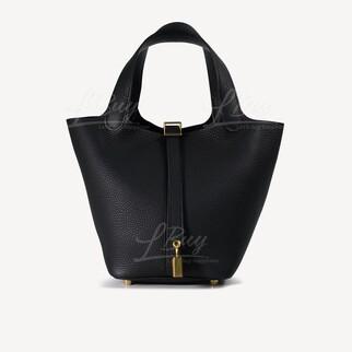 Hermes Picotin Lock 18 Bag 手挽袋 黑金