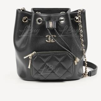 Chanel 索繩桶袋手袋