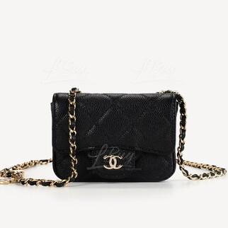 Chanel經典附皮帶手袋腰鏈袋