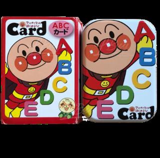 麵包超人 ABC學習卡