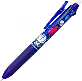 多啦A夢 深藍擦得甩三色筆