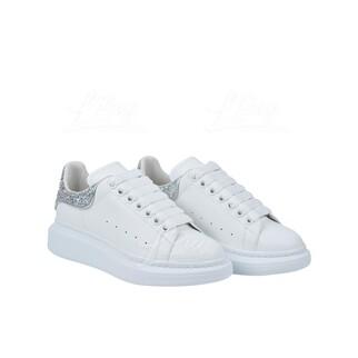 Alexander Mcqueen 銀色閃尾波鞋小白鞋