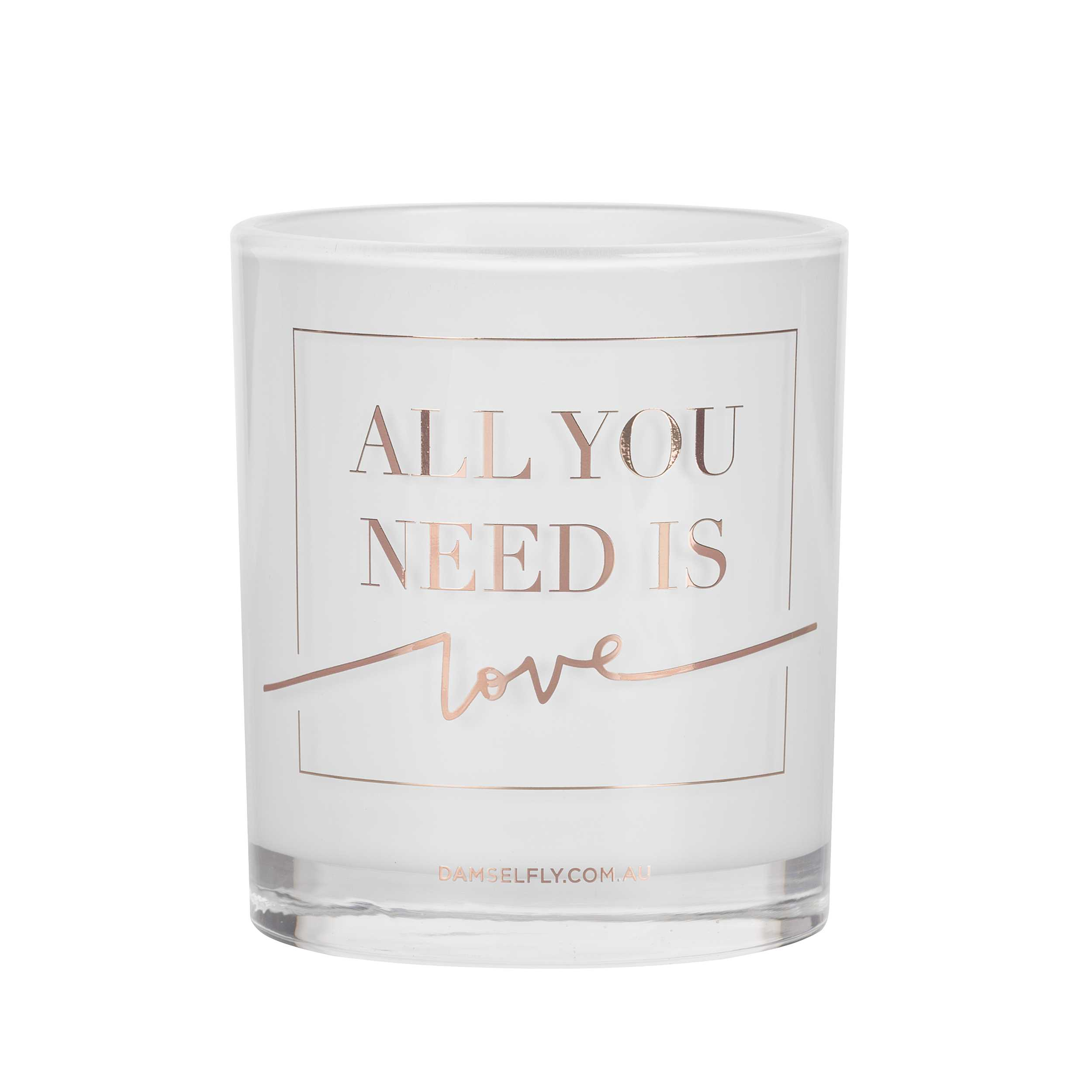 """All you Need is Love""  Australia natural made, ""Love"" aromas candles 300g"
