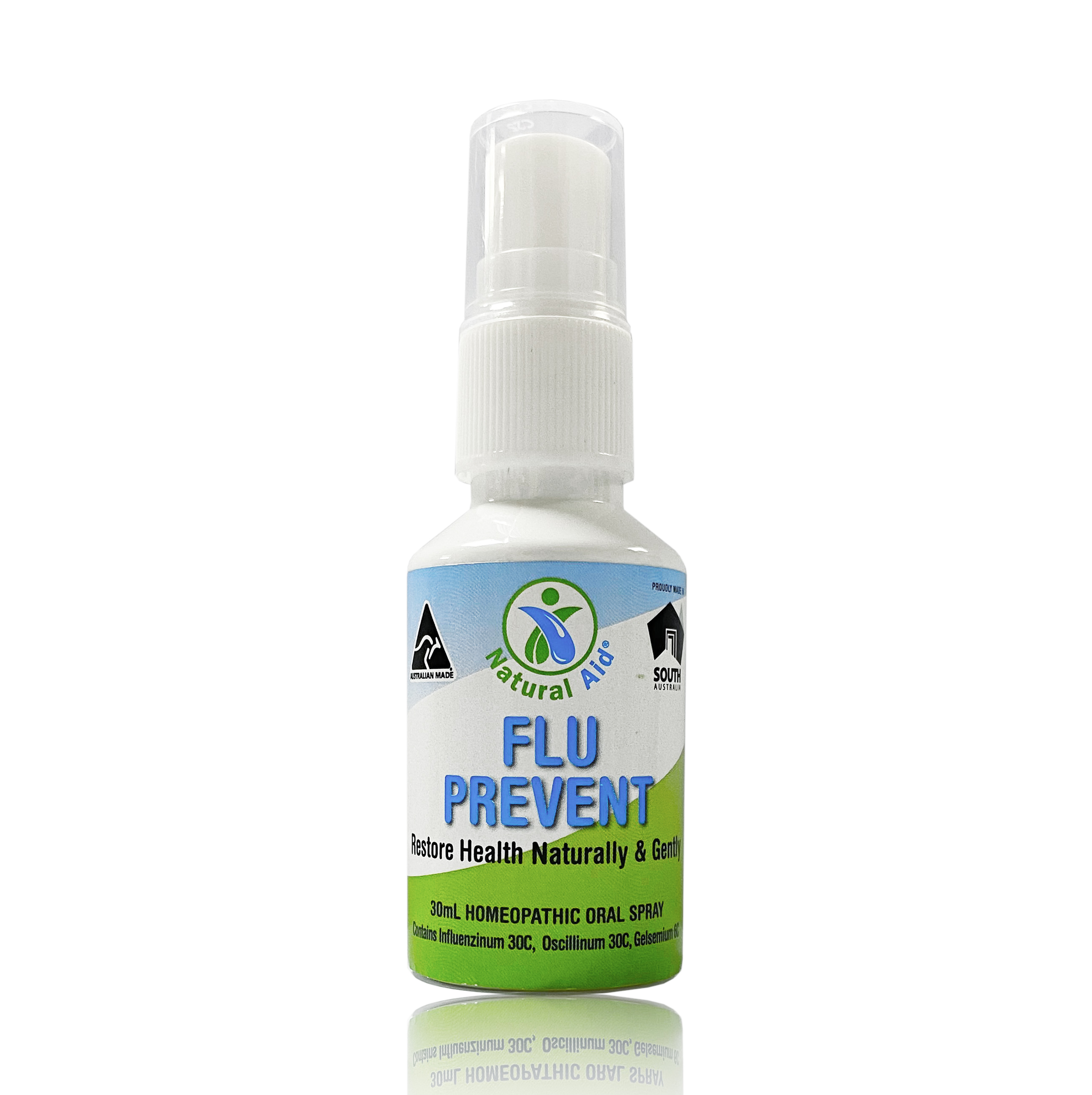 Natural Aid FLU PREVENT Oral Spray 30ml