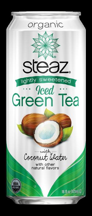 Steaz 有機微甜冰綠茶(椰子水)