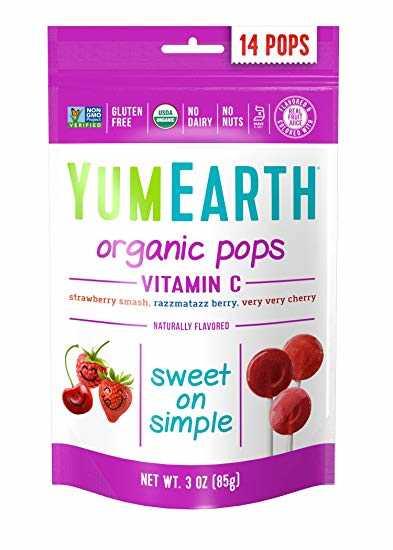 YumEarth Organic Vitamin C Pops (14pops)