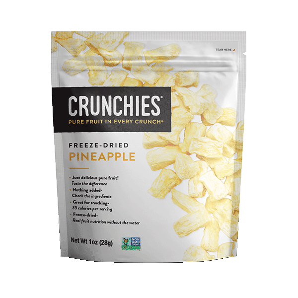 Crunchies Freeze Dried Pineapple