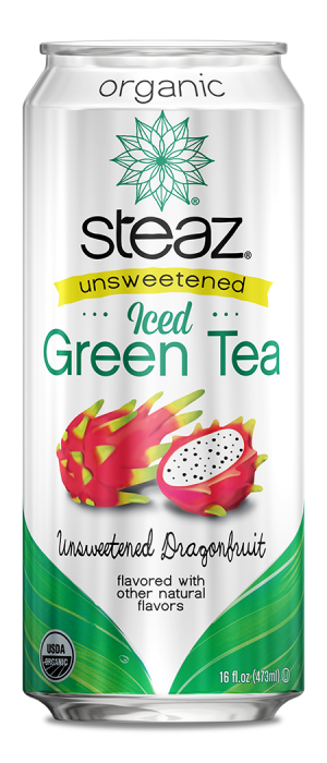 Steaz Organic Unsweetened Iced Green Tea(Dragonfruit)