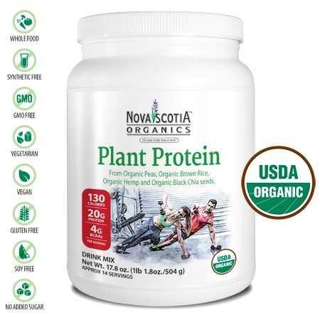 Nova Scotia Plant Protein 504g