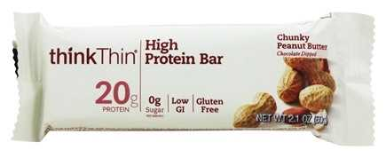Think Thin Chunky Peanut Butter Protein Bar