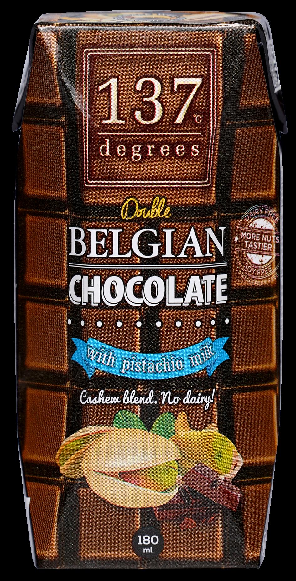 137°c Degrees Pistachio Milk with Double Belgian Chocolate 180ml