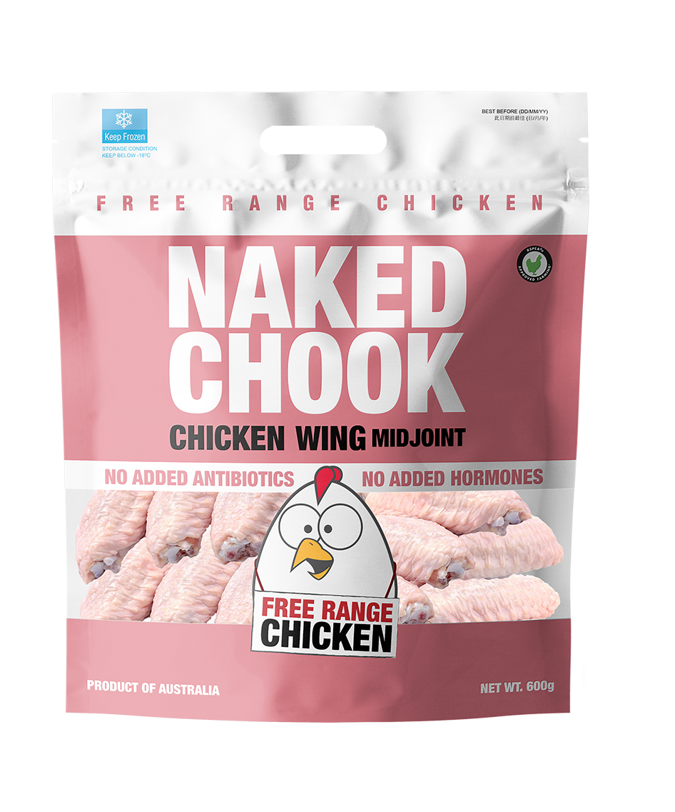 Naked Chock Chicken Mid Joint Wing