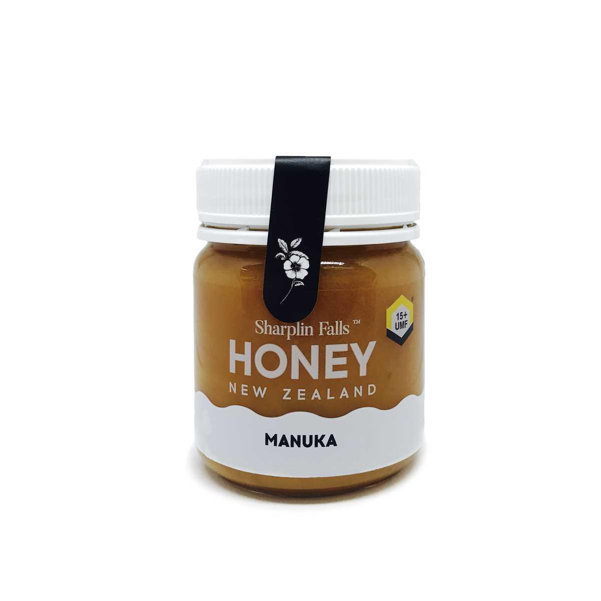 Sharplin Falls Manuka Honey UMF15+ 250gm
