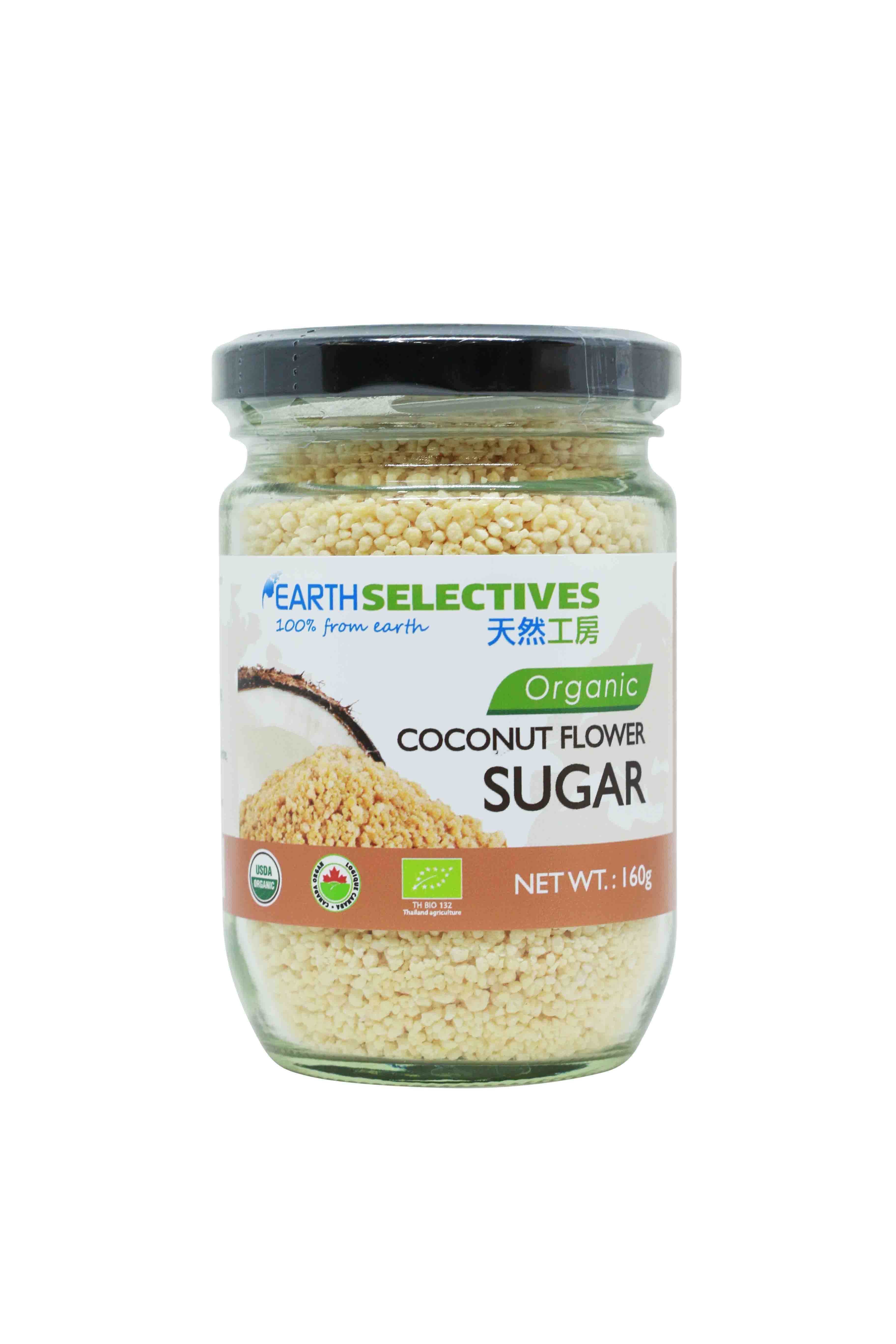 Earth Selectives Organic Virgin Coconut Flower Sug