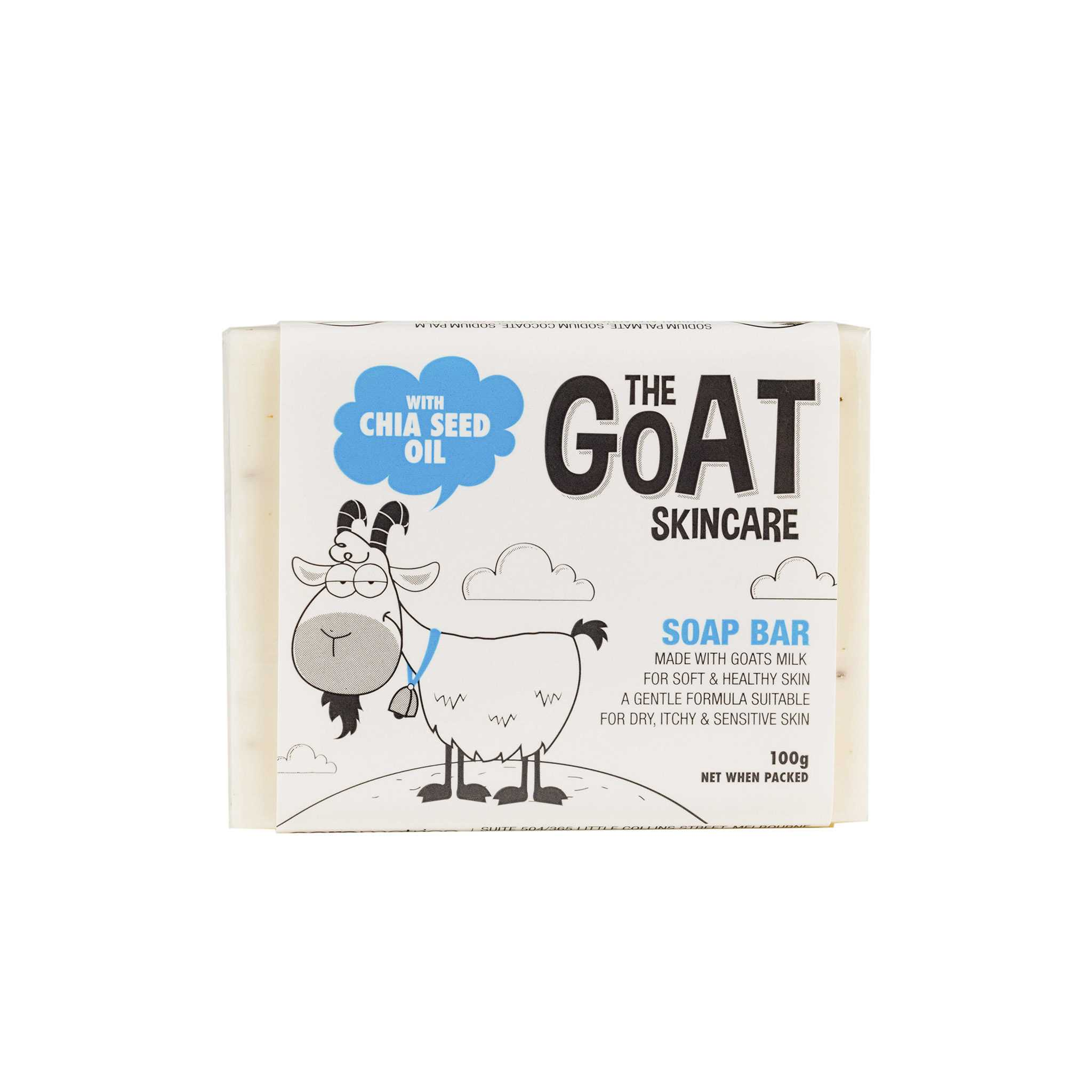 The Goat Skincare Soap Bar 羊奶奇亞籽香皂
