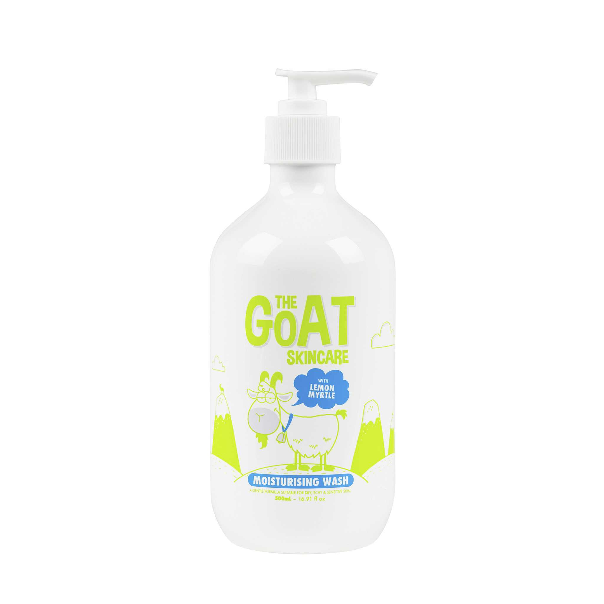 The Goat Skincare Body Wash with Lemon Myrtle 500ml