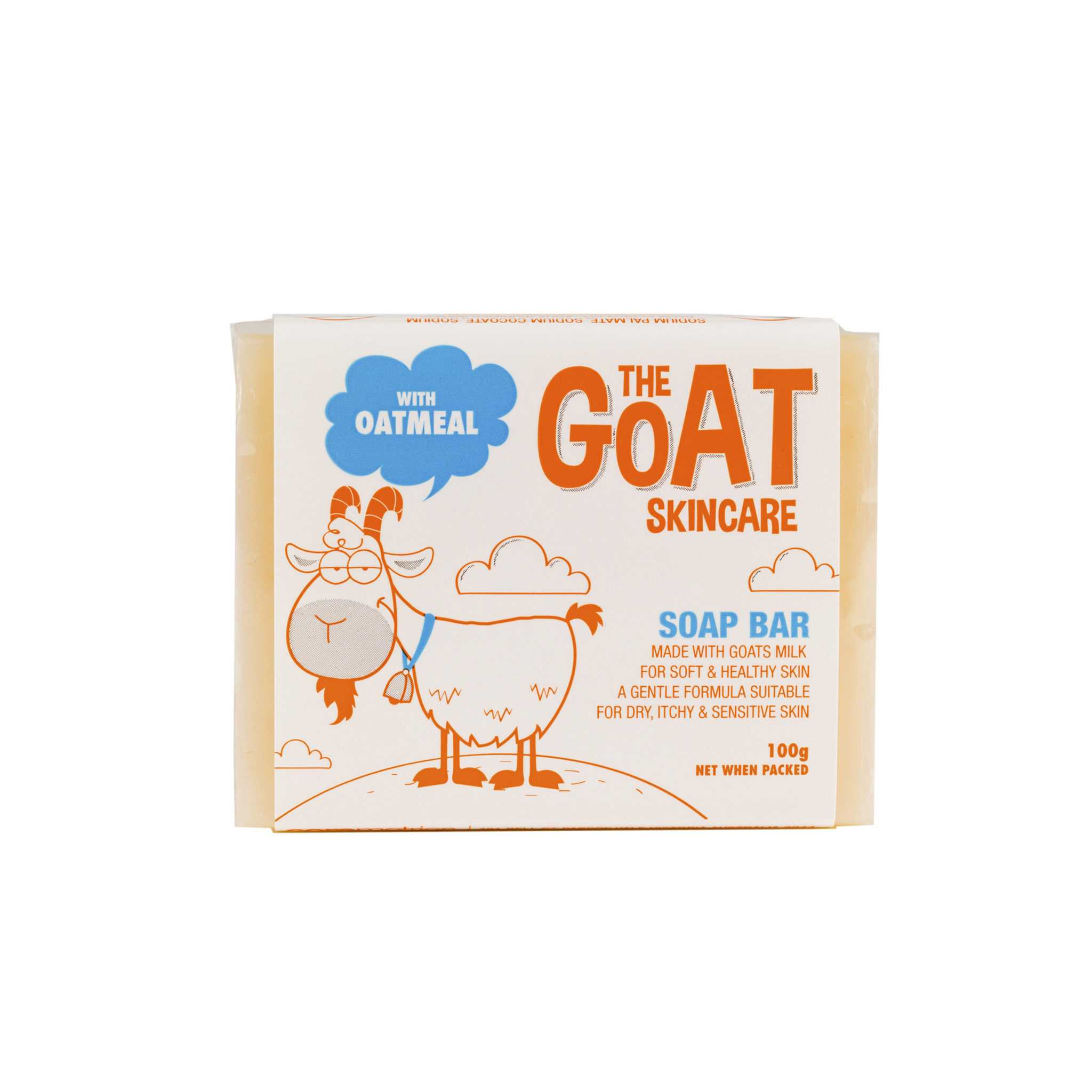 The Goat Skincare Soap Bar 羊奶燕麥香皂