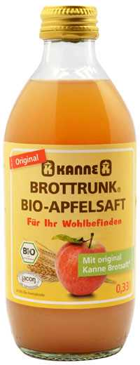 有機卡納蘋果麵包汁 330ml