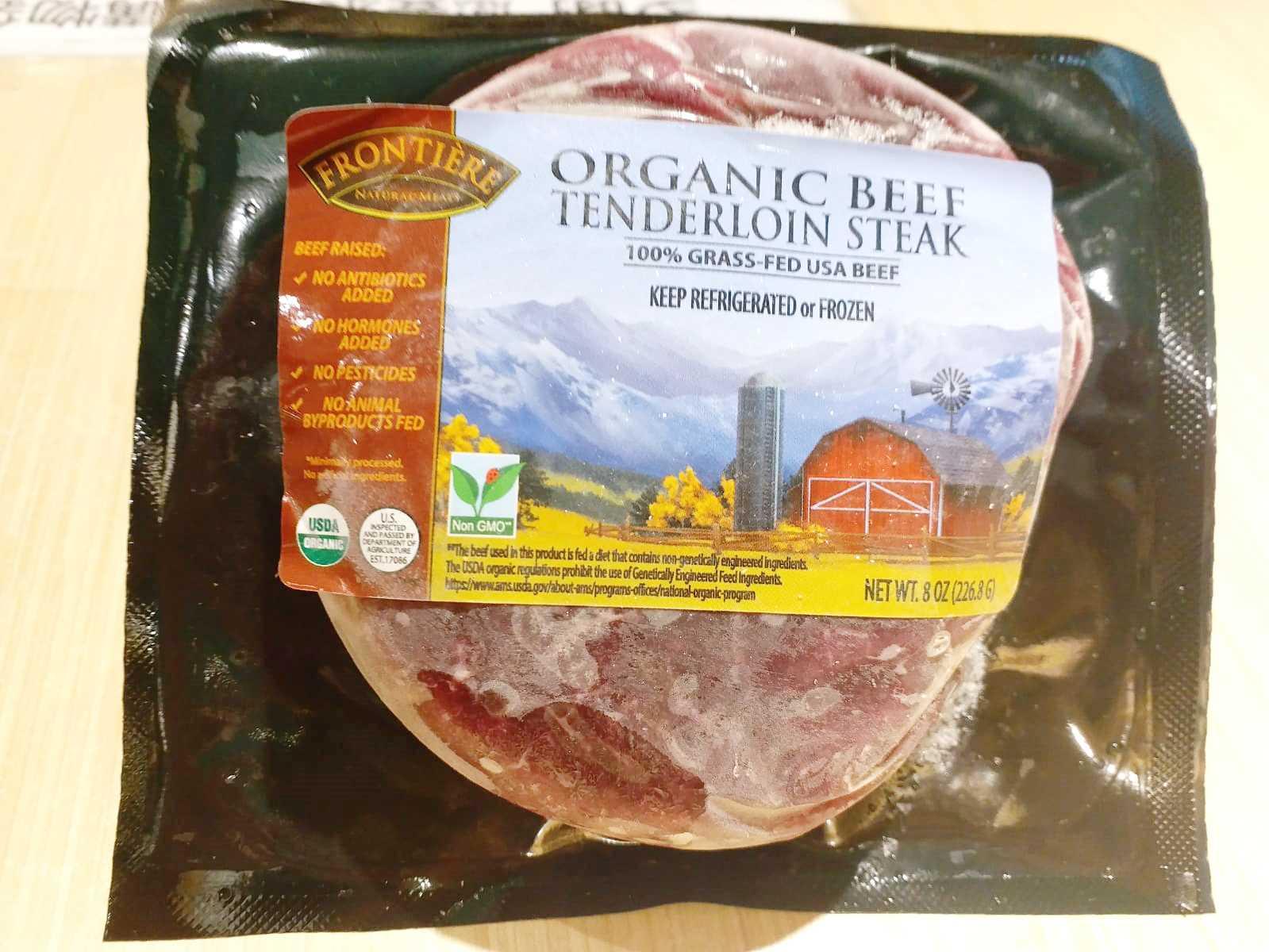 US Organic Beef Tenderloin