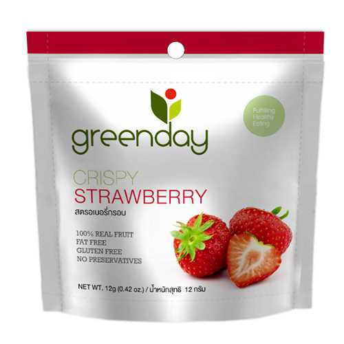 Greenday Crispy Strawberry