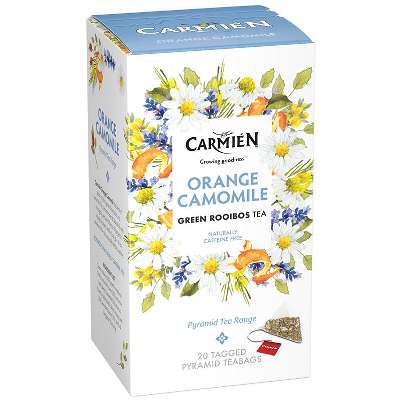 Carmien 香橙洋甘菊三角博士绿茶茶包20包(50g)