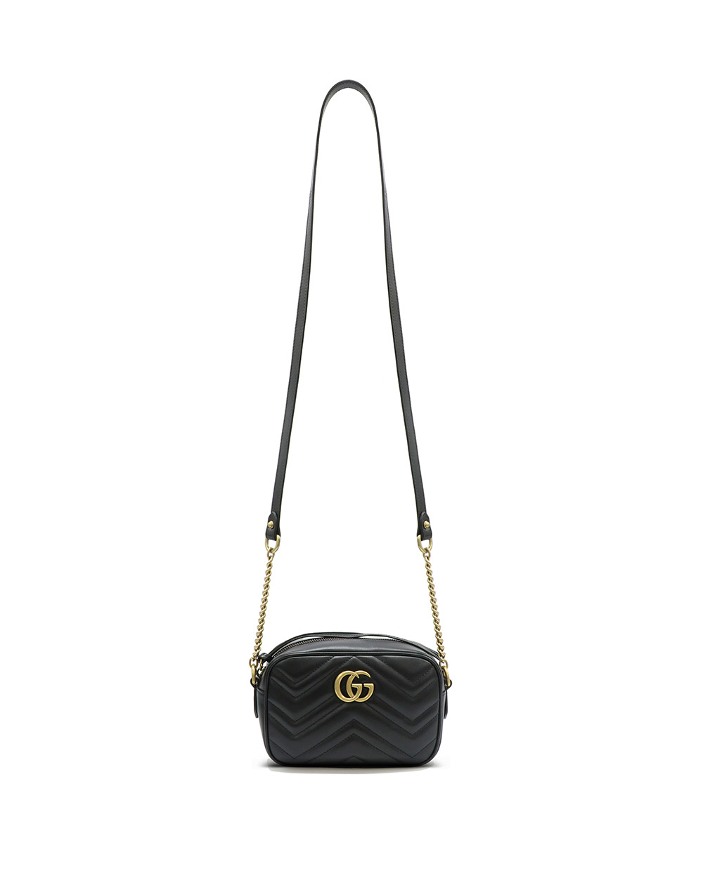 GG Marmont Ruched Mini Bag 448065DTD1T