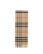 Giant Check Scarf 39295222310CCAMEL