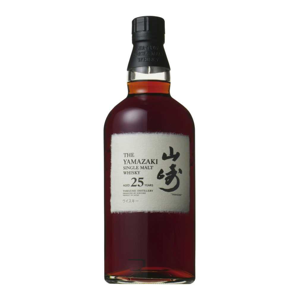 山崎25年 Suntory Yamazaki 25 Year Old Single Malt Japanese Whisky (700ml)