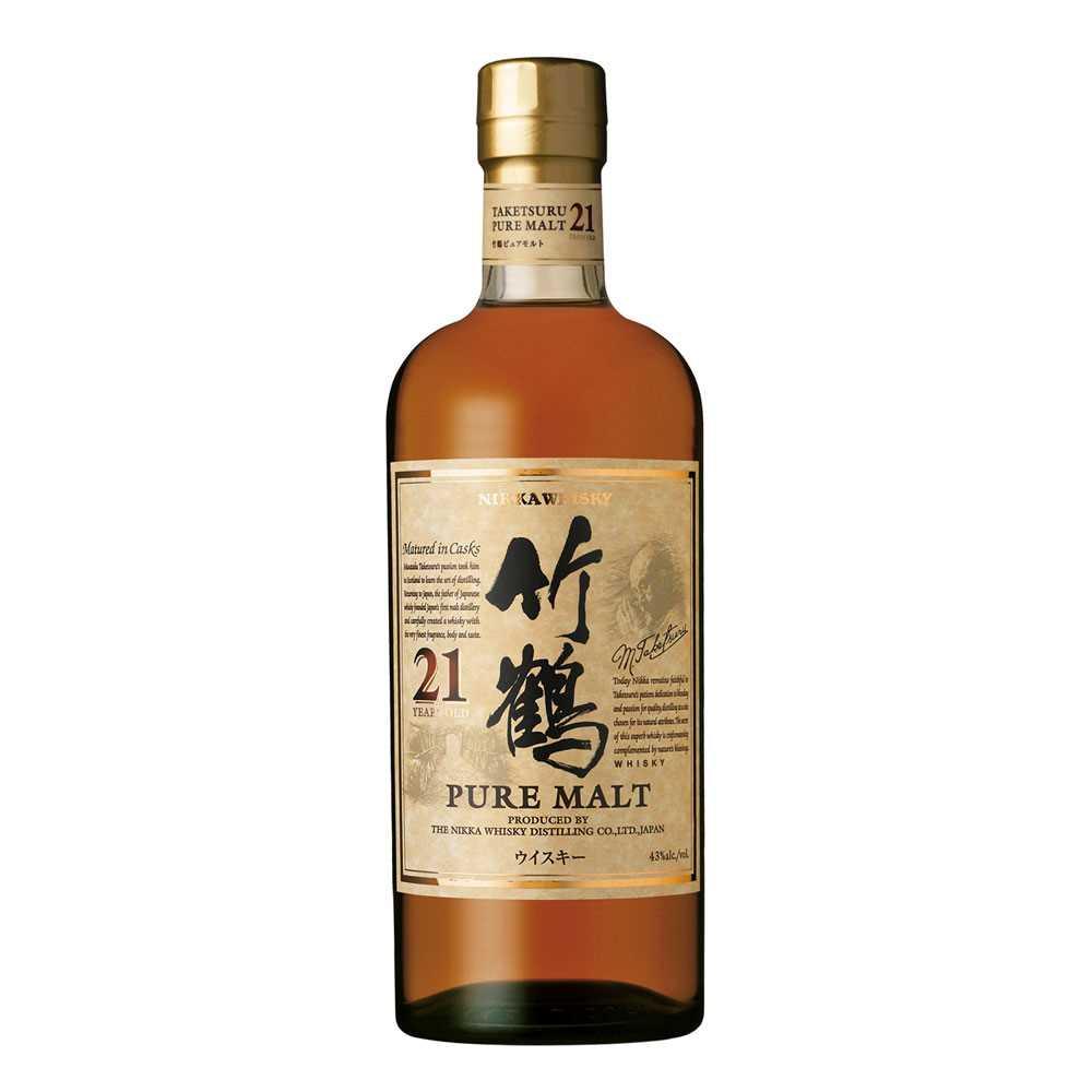 竹鶴21年 Taketsuru 21 Years (700ml)
