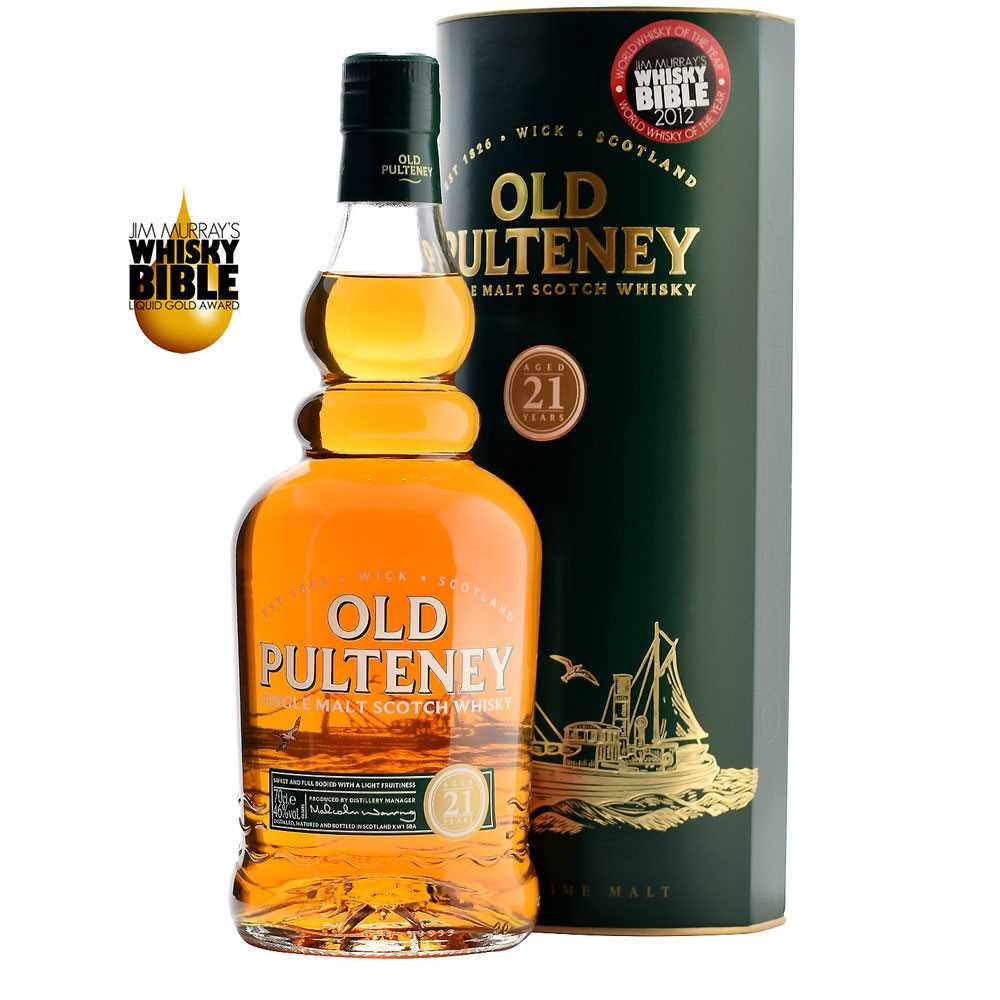 Old Pulteney 21 Year Old (700ml)